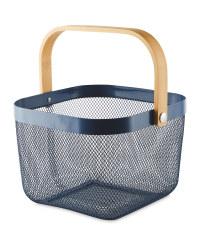 Navy  Kitchen Storage Basket