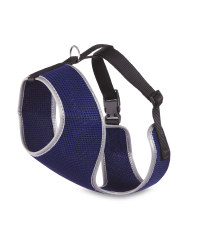 Navy Pet Collection Mesh Pet Harness