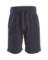 Navy School Sport Shorts