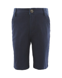 Lily & Dan Kids' Navy Shorts