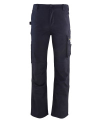 "Navy Workwear Trousers 33"" Leg"