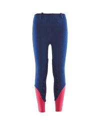 Navy/Pink Junior Riding Breeches