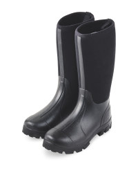 Neoprene Boots - Black