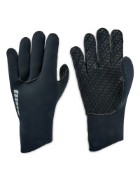 Neoprene Cycling Gloves - Black