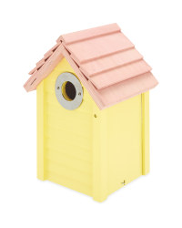 Bird Box Nest Box - Yellow