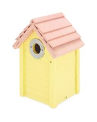 Bird Box Nest Box - Yellow