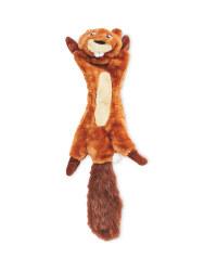 No Stuffing Beaver Dog Toy