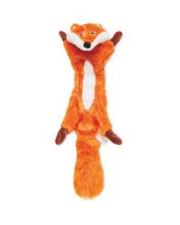 No Stuffing Fox Dog Toy