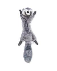 No Stuffing Raccoon Dog Toy