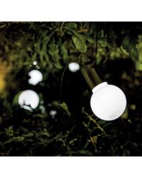 Noma 20 Solar Festoon String Lights