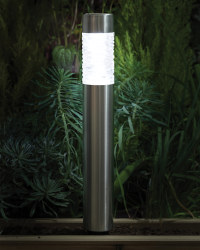 Noma 60cm Solar Bollard Path Light