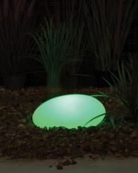 Noma Solar Pebble Light 30cm