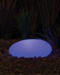 Noma Solar Pebble Light 40cm