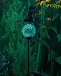 Solar ThoughtfulFairy Stake Light
