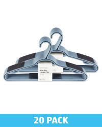 Non-Slip Adult Hangers 20 Pack