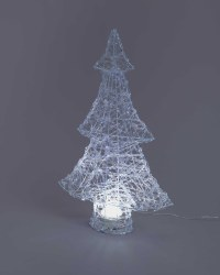 Northern Lights Acrylic Tree White