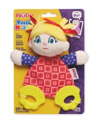 Nuby  Doll Teething Buddy