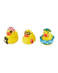 Nuby 3 Pack Ducks