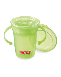 Nuby 360 Sippy Cup - Green