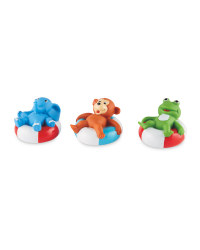 Nuby 4 Pack Lazy Lounger Squirters