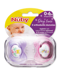Nuby Bee Soothers 0-6 Months