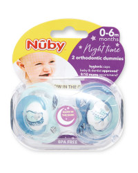 Hedgehog 0-6 Night Soother 2 Pack