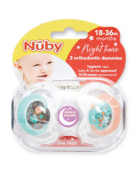 Space 18-36 Night Soother 2 Pack