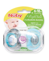 Koala 6-18 Night Soother 2 Pack