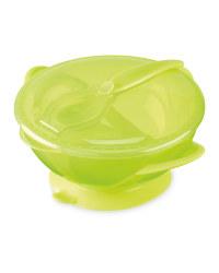 Nuby Easy Go Bowl - Lime