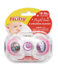 Night Sky 18-36 Night Soother 2 Pack