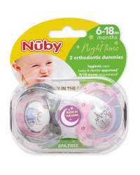 Unicorn 6-18 Night Soother 2 Pack