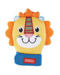 Nuby Lion Soothing Mittens