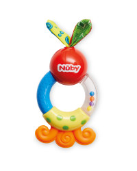 Nuby Rattle Teethers Red