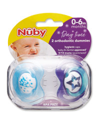 Nuby Rocket Soothers 0-6 Months