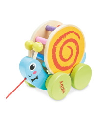 Nuby Snail Pull Along Wooden Toy