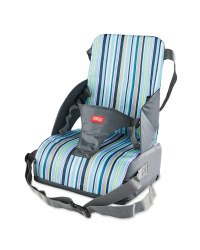 Nuby Stripe Travel Booster Seat
