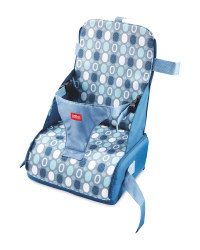 Nuby Travel Booster Seat - Blue/Navy