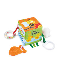 Nuby Tummy Time Activity Cube Toy