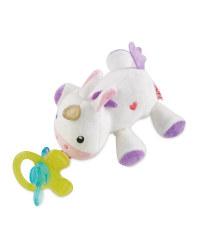 Nuby Unicorn Snoozie Teething Toy