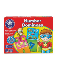 Children's Number Dominos Game
