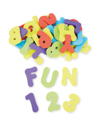 Nuby Numbers & Letters Bath Toys