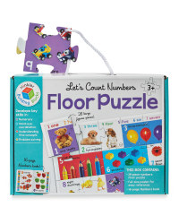 Numbers Building Blocks Puzzles