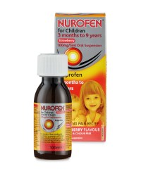 Nurofen For Children Strawberry
