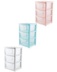 Nursery 3 Drawer Tower