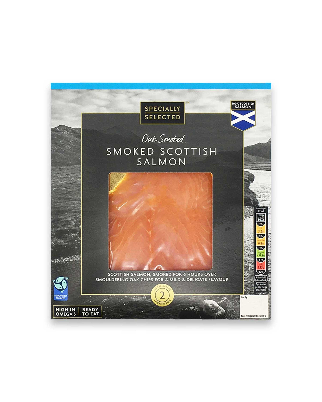 Oak Smoked Smoked Scottish Salmon