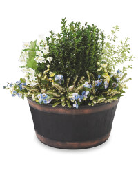 Oakwood Barrel Style Planter