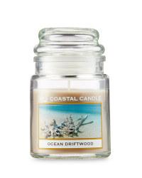 Ocean Driftwood Candle Jar