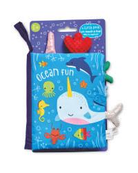 Ocean Fun Cloth Book