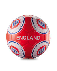 Official England FA Football - Red