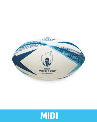 Official Rugby World Cup Midi Ball  - Blue